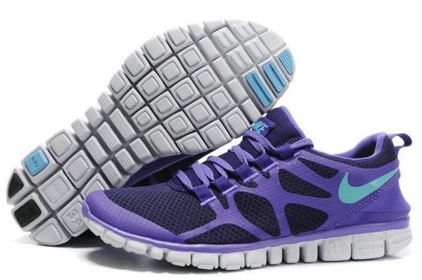 the best attitude 4eb7f 13671 Nike Free 3.0 V3 Chaussures de Course Pied pour Homme Violet Violet Foncé  Blanc