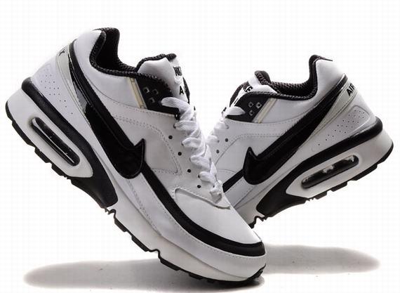 Nike Air Max BW basket tn,tn classique bleu marine cuir